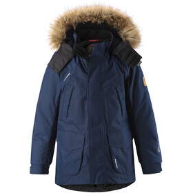 Reima Serkku Reimatec Down Jacket Barn Navy